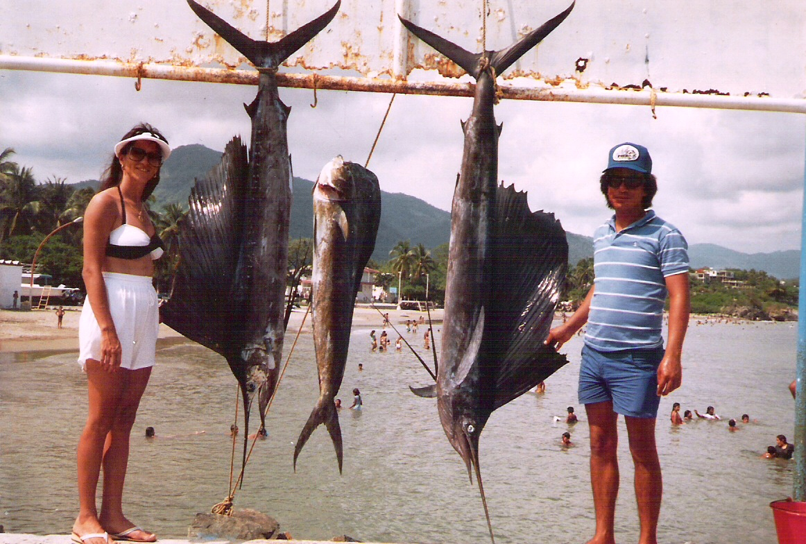 Ixtapa, Mexico off shore fishing