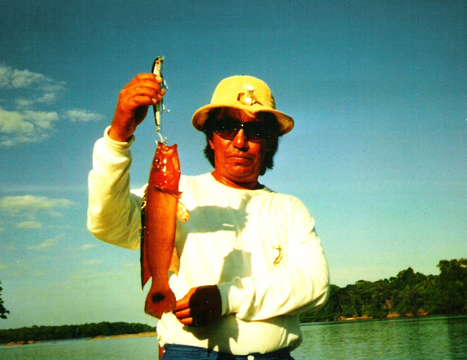 Mata Guaro the red catfish coolest fish in Amazon Basin