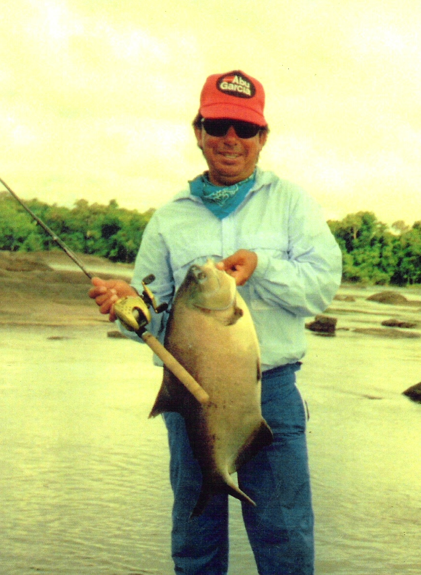 Pacu fish in Venturia River Amazon Basin