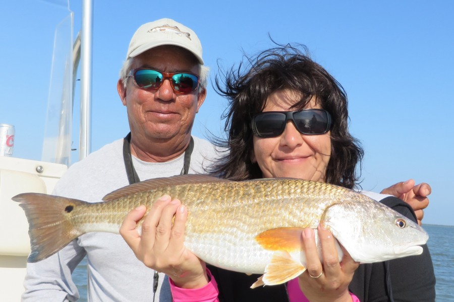 South Padre Island Fishing Guide Redfish
